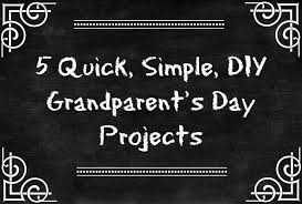 handmade grandparent gifts 5 simple diy grandparent s day gifts