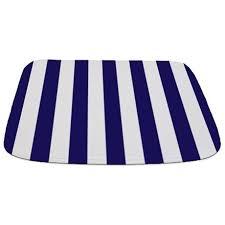 Salle De Bain Bathroom Accessories by Navy Blue White Striped Bathroom Accessories U0026 Decor Cafepress