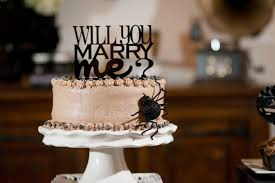 Halloween Spider Cake Ideas by Spooky Halloween Engagement Party Two Prince Bakery Theater
