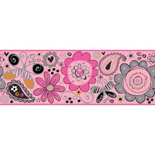 Pink Removable Wallpaper by Gk9031b Growing Up Kids York Wallcoverings Gk9031b Growing Up