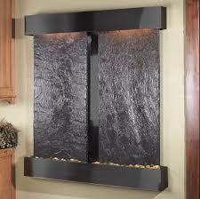 Interactive Home Decorating by Accessories Interactive Image Of Mounted Wall Lighted Black Stone