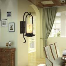 Lighting Wall Sconces Traditional Country Style 20 U0027 U0027 H 1 Light Wall Sconce With
