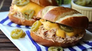 easiest ever slow cooker sandwiches bettycrocker com