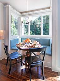 small blue breakfast nook breakfast nooks nook and dark wood