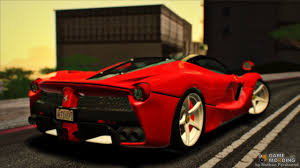 gold ferrari laferrari ferrari laferrari 2014 for gta san andreas