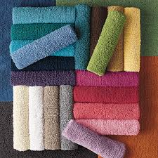 Coral Colored Bath Rugs Company Cotton Chunky Loop Bath Rug The Company Store