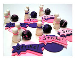bowling cake toppers bowling cupcake toppers bowling toppers bowling birthday