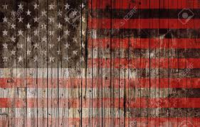american flag painted on wood high resolution background stock