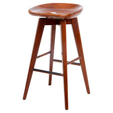 Leather Swivel Bar Stool Furniture Modern And Contemporary Backless Swivel Bar Stools