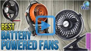 battery operated fans top 10 battery powered fans of 2018 review