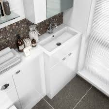 hudson reed vanity unit u0026 basin white 600