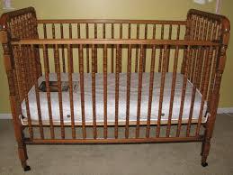 Shermag Capri Convertible Crib White by Dark Brown Crib Cribs Decoration