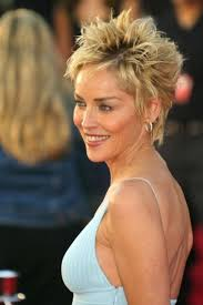 short frosted hair styles pictures sharon stone short hairstyles hairstyles gallery hairboutique