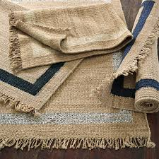 Diy Outdoor Rug With Fabric Jute Border Rug U2013 Metallic Silver Serena U0026 Lily Easy Diy With