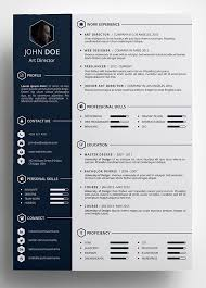 design resume templates design resume template professional resume template cover letter