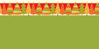 tree banners happy holidays