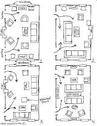 living room floor plan ideas the room arranging furniture twelve different ways in same fred img