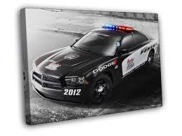 dodge charger pursuit dodge charger pursuit car framed canvas print ebay