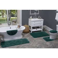 Soft Bathroom Rugs Better Homes And Gardens Soft Bath Rug Collection Walmart