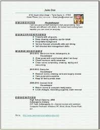 Private Housekeeper Resume Housekeeper Resume Objective U2013 Template Design