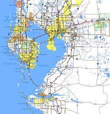 Map Southwest Florida by Interstate Guide Interstate 275 Florida