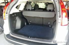 honda crv cargo box 2012 honda cr v term road test cargo space