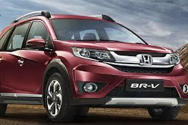 honda cars models in india honda cars india launches honda br v priced at rs 8 75 lakh