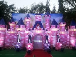 Castle Backdrop Celebrium Birthday Party Planner Bangalore