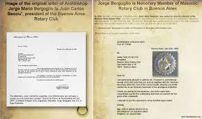 pope francis false prophet satanism occult freemasonry