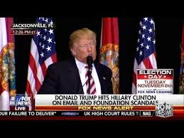 donald trump youtube channel new trump speech hillary will be indicted youtube