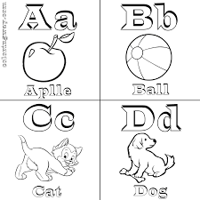 abc coloring pages coloring pages to download and print