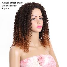 aliexpress com buy 14 18inch curly weave synthetic hair