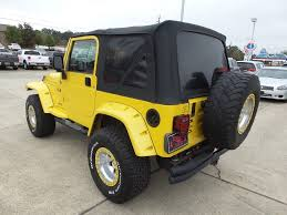 yellow jeep jeep wrangler in mississippi for sale used cars on buysellsearch