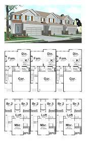 floor plans homes plans multi family home floor plans