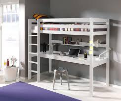 Schreibtisch 90 Hochbett Pino Mit Schreibtisch Liegefläche 90 X 200 Cm Kiefer