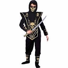 Halloween Costumes Girls Age 16 Fun Skull Lord Ninja Child Halloween Costume Walmart