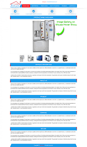 Listing Templates Templates For Ebay Store Designs To Sell Home Appliance Mobile