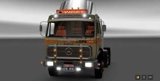 mercedes commercial trucks mercedes 1632 ng fixed truck truck simulator mod