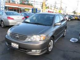 price of toyota corolla 2003 used 2003 toyota corolla for sale pricing features edmunds