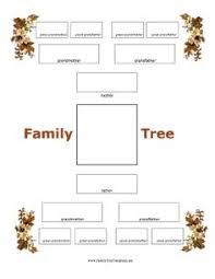 vintage white family tree 5 generations customizable 13 x 19