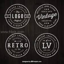 design a vintage logo free free logo templates vectors psds photos f4pik