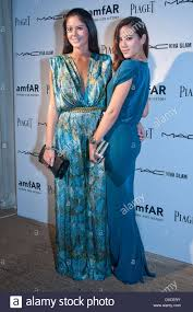 Gaby Endo And Manoela Corradi Amfar Inaugural Benefit At The Soho