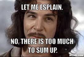 No Meme Generator - let me splain meme generator let me esplain no there is too much to