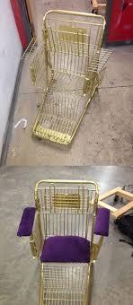 siege de caddie caddie de supermarché transformé en siège 35 idées de récup