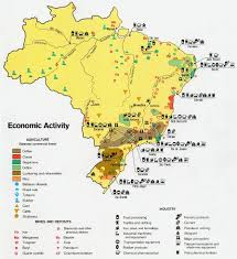 Map Of Brazil South America by Brazil Cities Map