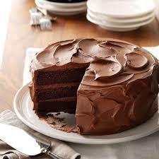 brown cake s chocolate cake recipe taste of home