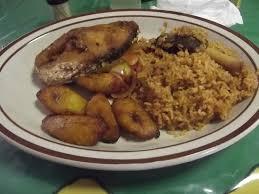 cuisine et delice riz au mouton et alokos un délice picture of chez maman benin