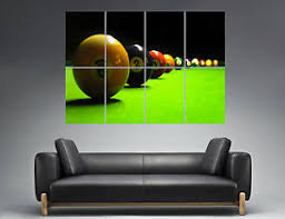 pool table wall art sport snooker pool table wall wall art poster great format a0 wide