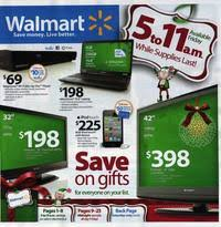 walmart black friday 2010 ad scan