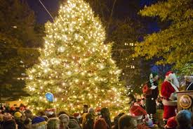 tree lighting in rittenhouse square visit philadelphia